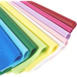 120 Sheets - Tissue Paper Gift Wrap in Bulk - Assorted Colors - Perfect for Gift Bags, DIY Crafts, Holidays, Christmas, Birth