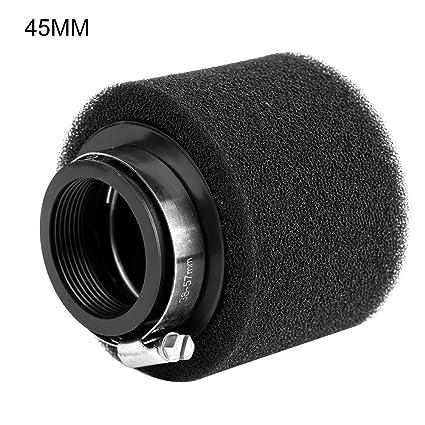 negro 40 mm Ramair Filters MR-003 Filtro de aire para motocicleta