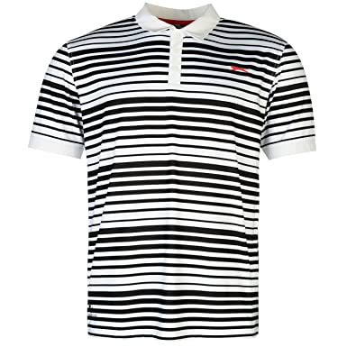Slazenger Hombre Fine Rayas Polo Camisa Camiseta Ropa Deporte ...