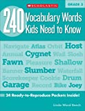 240 Vocabulary Words Kids Need to Know: Grade 3: 24 Ready-to-reproduce Packets That Make Vocabulary Building Fun & Effective