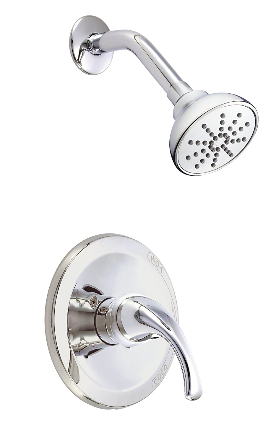 Danze D510511T Melrose Single Handle Shower Trim Kit, 2.5 GPM, Valve Not Included, Chrome