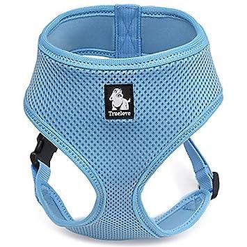 Treat Me Arneses Básico para Perros Antitirones Chaleco Sándwich Resistente y Ajustable Transpirable Diseño Simple para