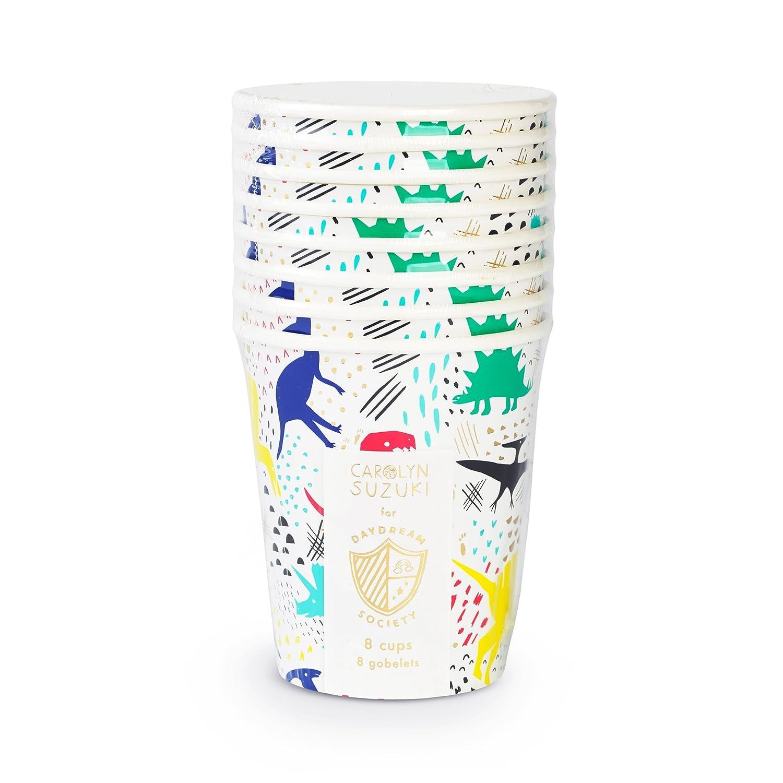 Amazon.com: Daydream Society Dinomite Dinosaurios vasos de ...
