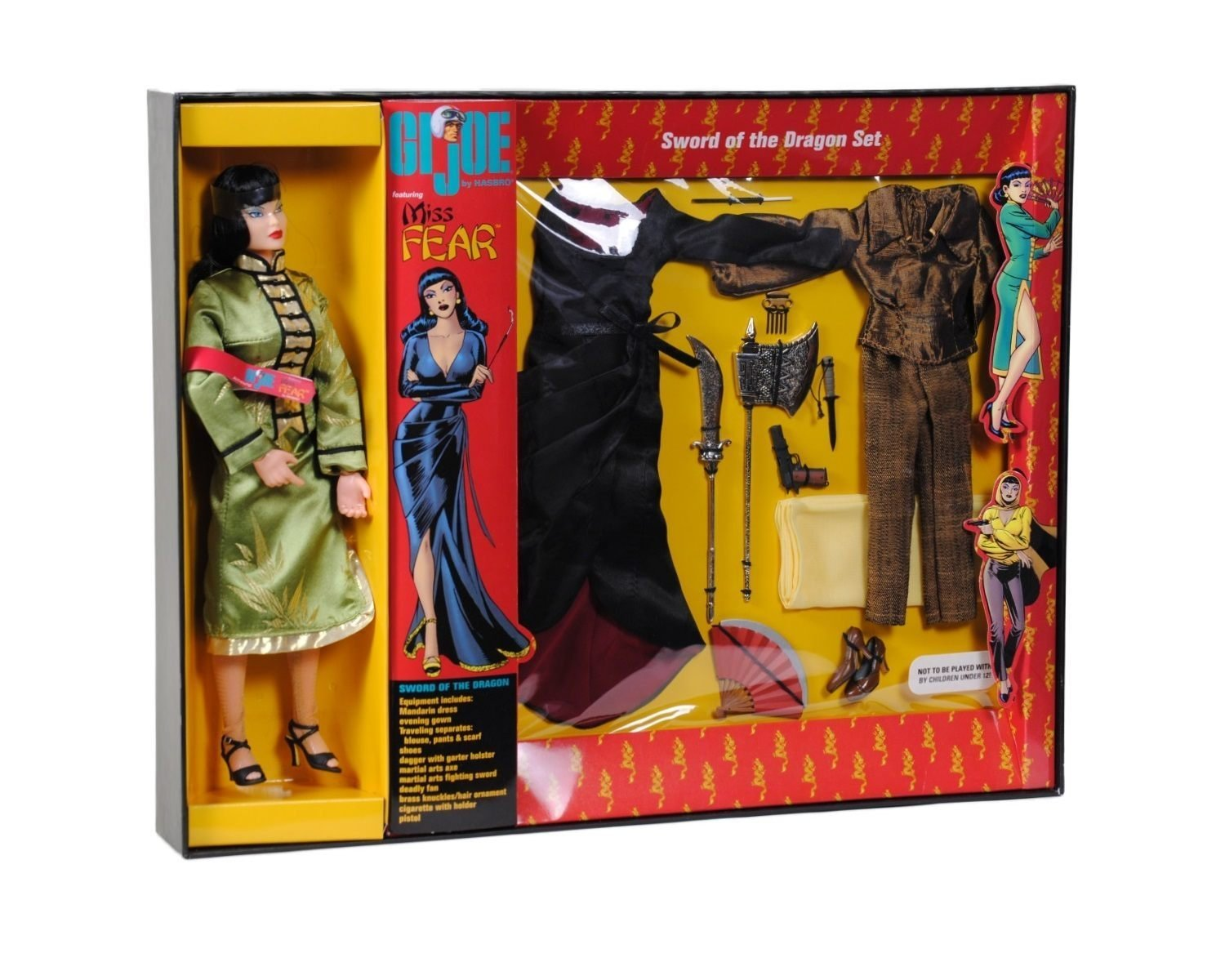 Limited to 3,500 Sets Dreams /& Visions GI Joe Miss Fear 12 Action Figure Gift Set