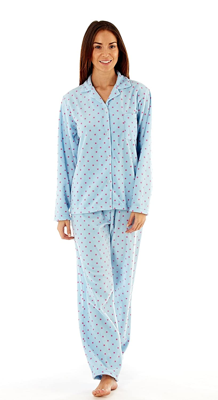 a272a9e2ad Ladies Stars Fleece Pyjamas Set