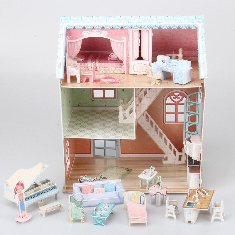 Furniture Pianist's 3d Dollhouse Home Pieces Cubicfun Puzzle105 n08OkNwZPX