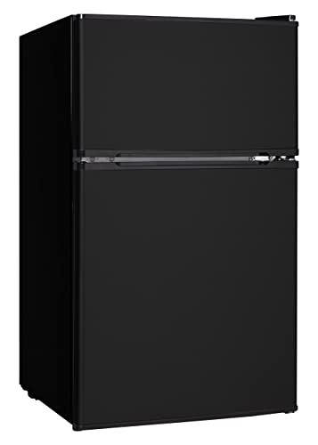 Midea WHD-113FB1 Double Door Mini Fridge