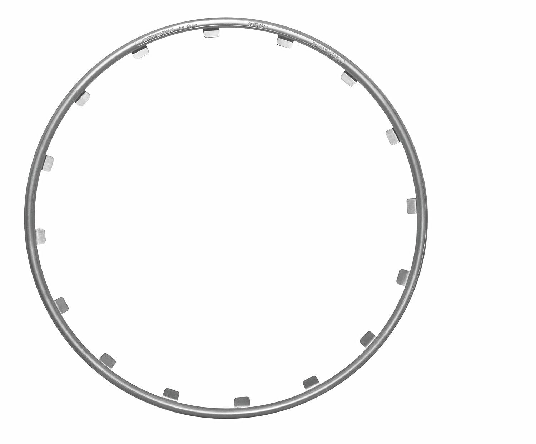 """Rim rimgz 63116 aluminium-protection jantes 16 """"- argent - 4 pièces-nombre d'unités :  4"""