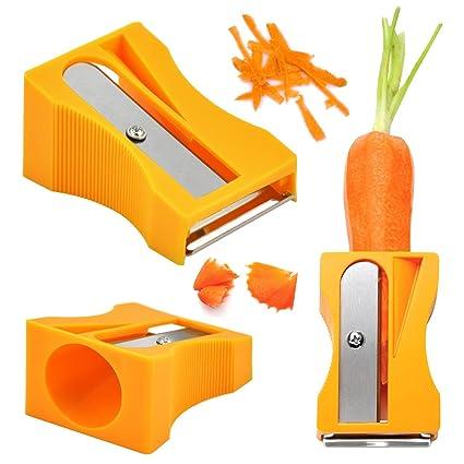 Magnusdeal Carrot Sharpener Peeler Kitchen Gadget Tool Vegetable ...