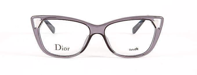 5890ed1de2e Amazon.com  CHRISTIAN DIOR CD3286 CD 3286 6MI Grey Rose Pale Pink Eyeglass  Frame Eyewear  Clothing