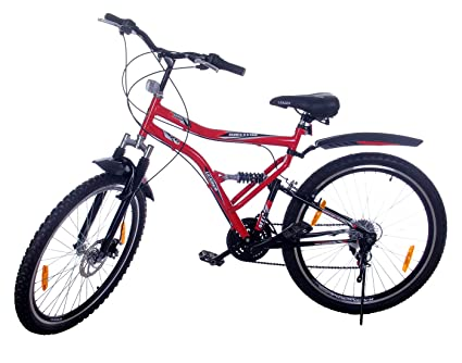 Leader Steel Men\'s Bicycle, 9 Inches (Red, JFI SURVIVOR MULTISPEED ...