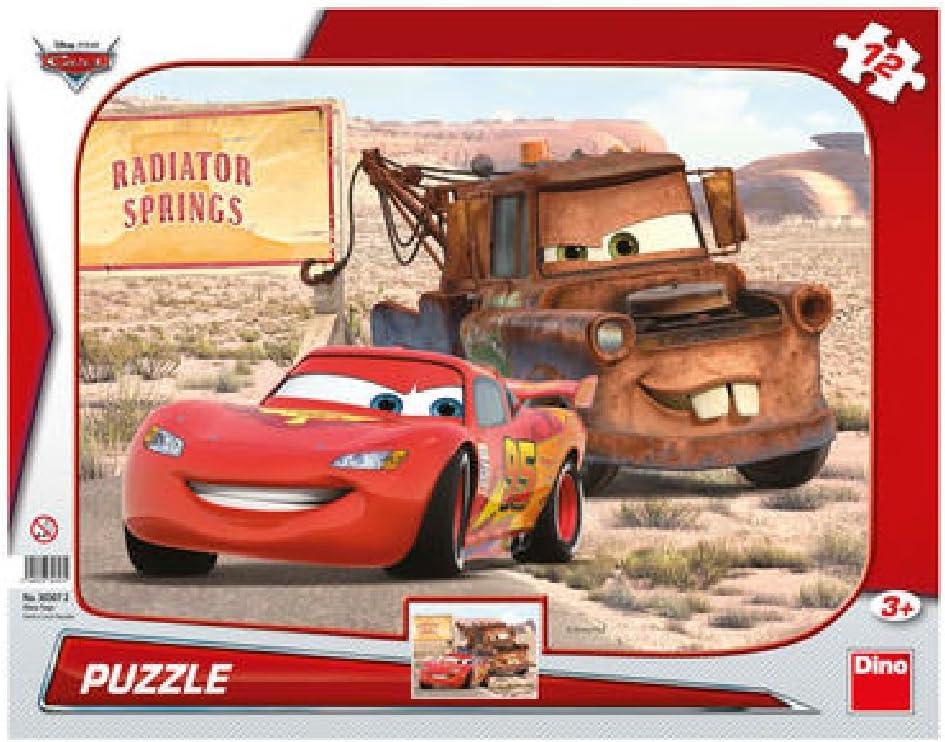 Dino Toys 303072 Disney Cars - Puzzle con Marco, diseño de Sierras ...