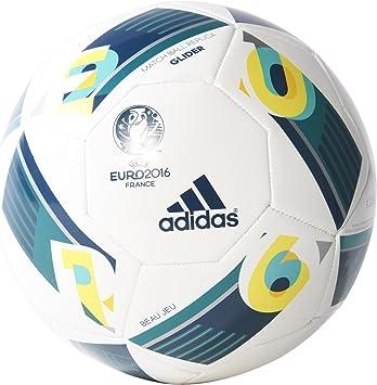 adidas Euro16 Glider - Balón de fútbol: Amazon.es: Deportes y aire ...