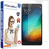 CELLBELL® Tempered Glass Screen Protector For Xiaomi Mi 4i / Mi4i With FREE Installation Kit