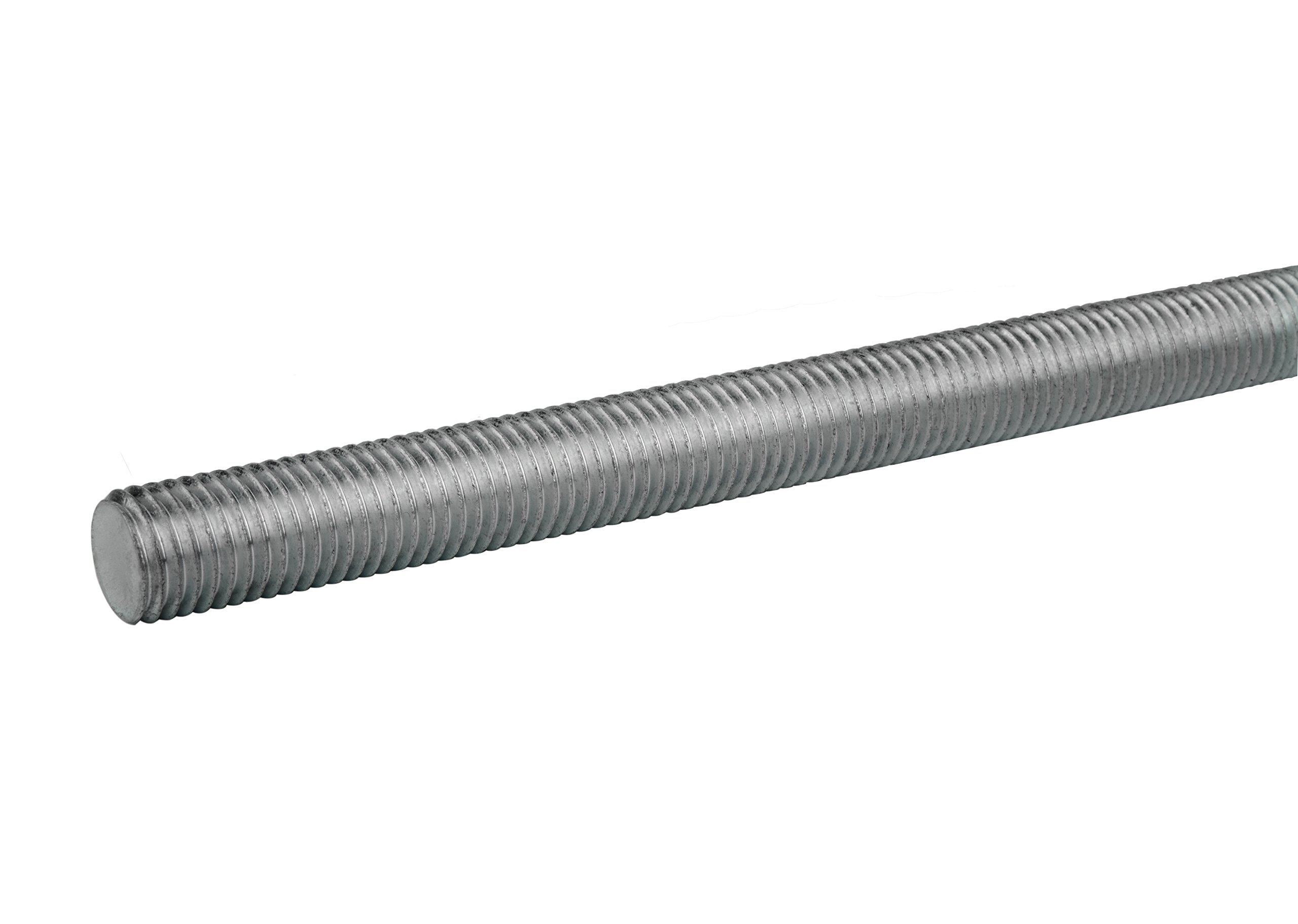 316 Stainless Steel Fully Threaded Rod, 1/2''-13 Thread Size, 72'' Length, Right Hand Threads