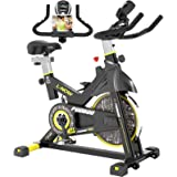 pooboo Indoor Cycling Bike, Belt Drive Indoor Exercise Bike,Stationary Bike LCD Display for Home Cardio Workout Bike…
