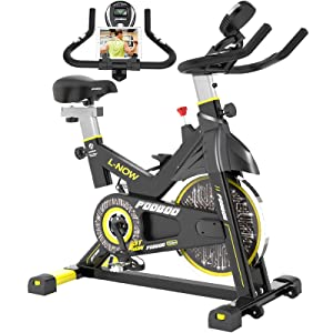 Pooboo Indoor Belt Drive Indoor Exercise Bike