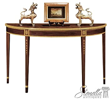 Henkel Harris Model #5724 Federal Style Inlaid Mahogany Console Table ~ NEW
