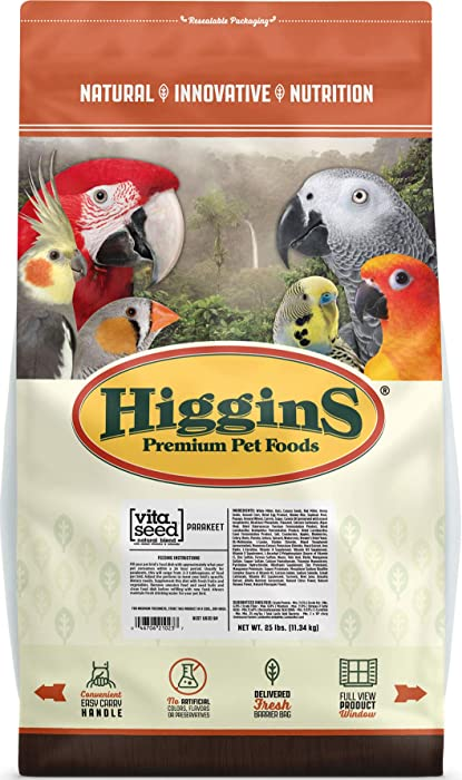 Top 10 Higgins Canary Bird Food