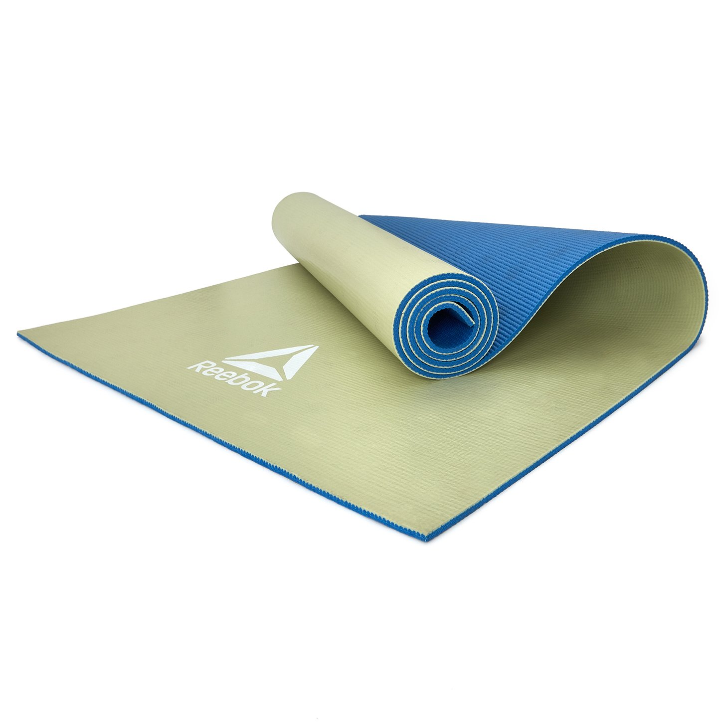 Amazon.com : Reebok Double Sided Yoga Mat, Blue/Green, 6mm ...
