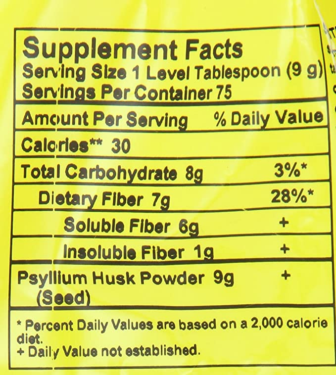 Now Foods Psyllium Husk Powder, 24-Ounce: Amazon.es: Salud y cuidado personal