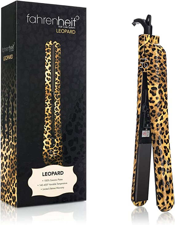 Fahrenheit° Hair Straightener Hair Care System Flat Iron Limited Edition 1.25