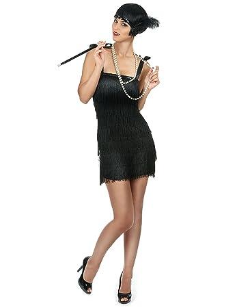 Generique - Disfraz Charleston Mujer: Amazon.es: Juguetes y juegos