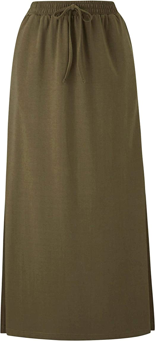 Womens Pack 2 Side Split Midi Skirts Simply Be