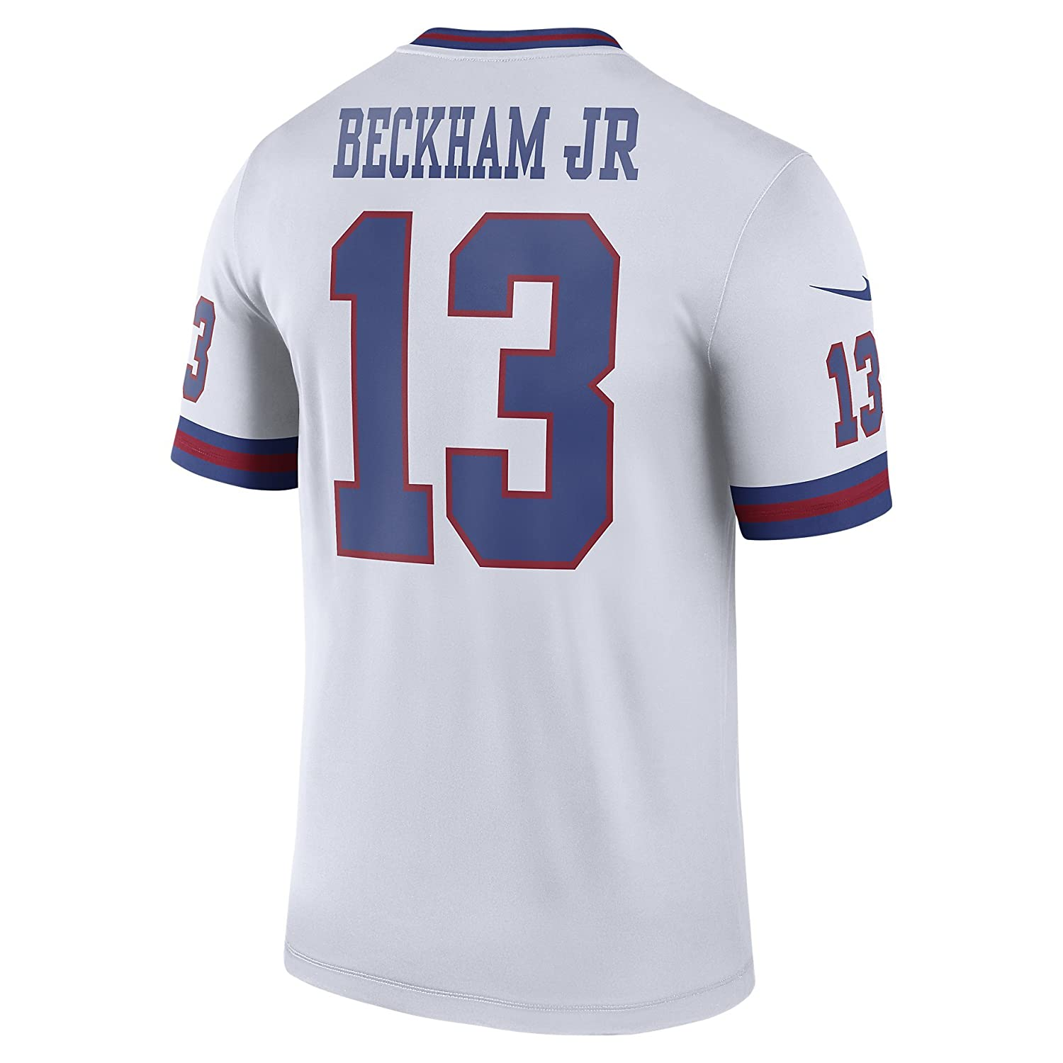 ce831ac45 Amazon.com  Nike Odell Beckham Jr. New York Giants Color Rush White Legend  Dri-FIT Jersey - Men s Large  Clothing
