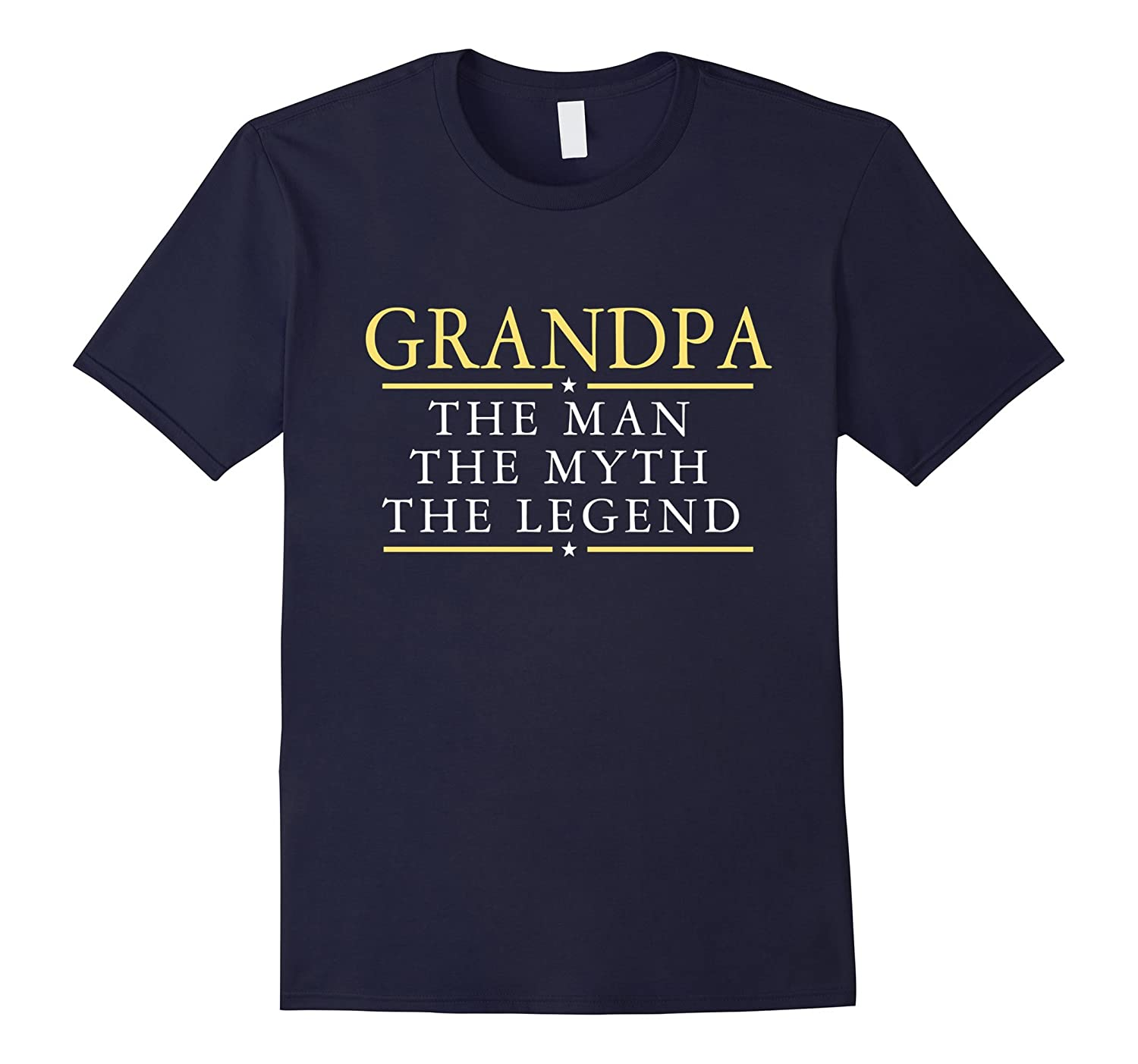 Grandpa The Man The Myth The Legend T Shirt-TD