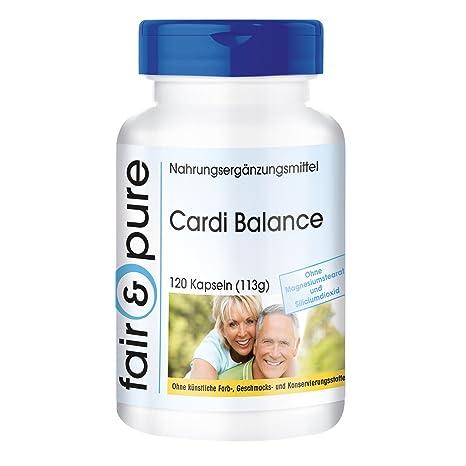 Cardi Balance – multivitamínico - 120 cápsulas – Fair&Pure – con minerales, vitaminas y aminoácidos
