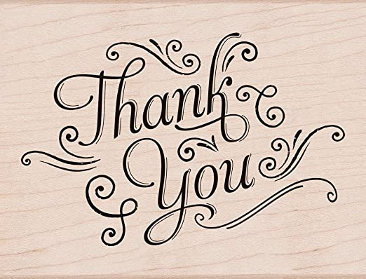 Thank You Messages Hero Arts CM135 Clear Stamps