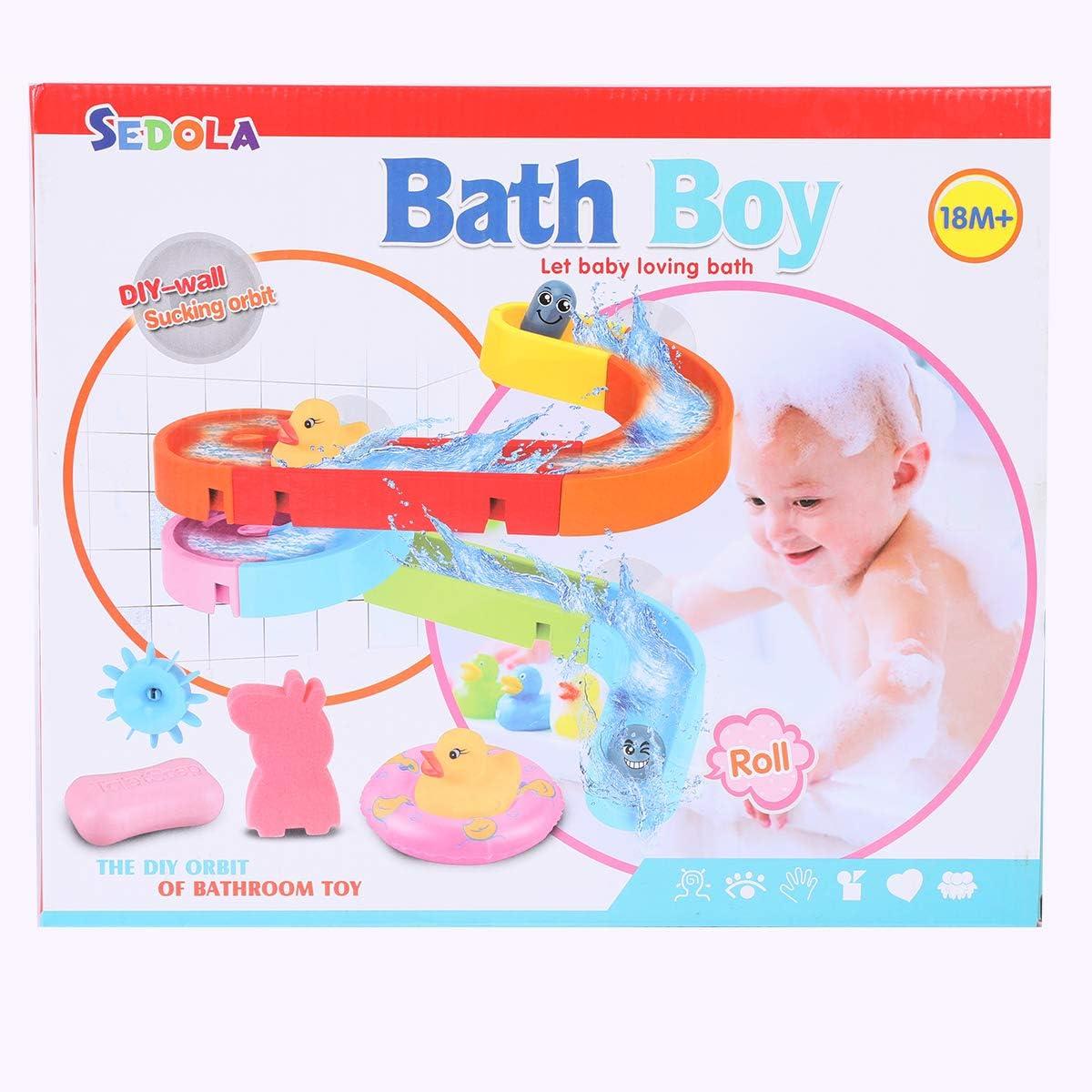 WISHTIME Combine Track Pathway Bath Toy 2019 DIY Combinación ...