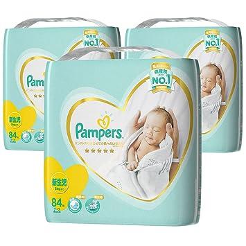 2f0f100144fff  ケース販売  パンパース テープ 新生児 (~5kg) はじめての肌への