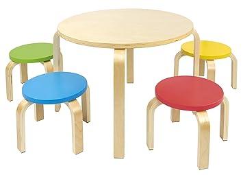 Table Et 4 Chaises Enfant Meuble Mobilier Chaise Denfant Baby