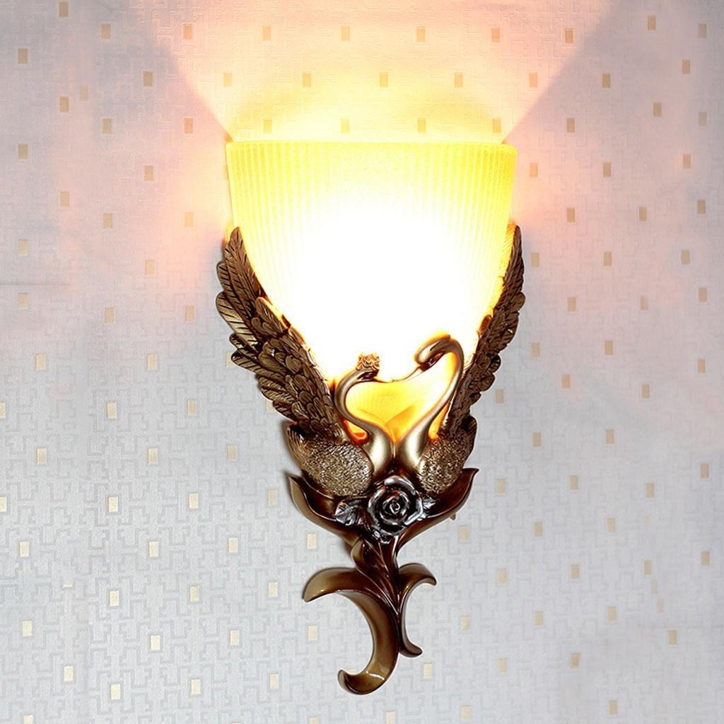 Wandleuchte Harz Handwerk kreative Wohnzimmer Schlafzimmer Nachttisch Treppen Crystal Lampe