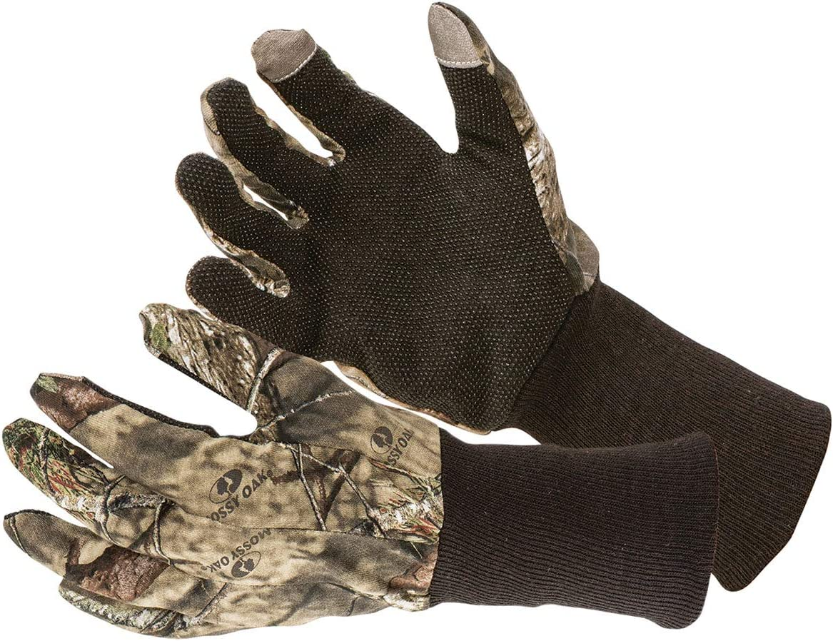 Allen Company Camo Jersey Hunting Gloves - Mossy Oak Break-Up Country