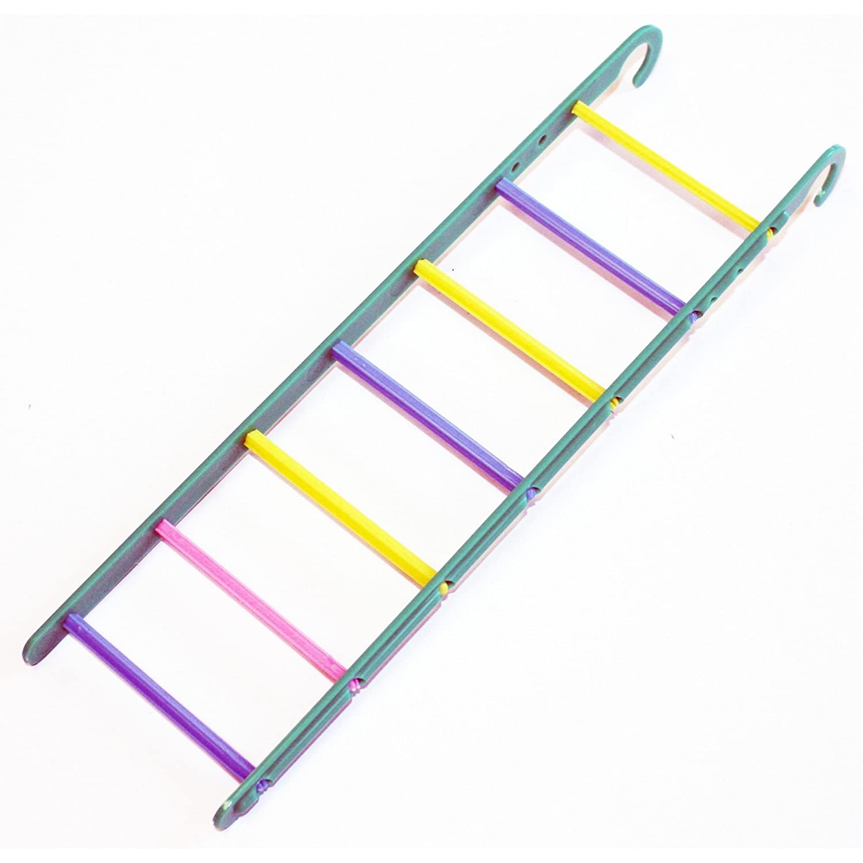 Ruff N Tumble Ring a Rung Small Caged Bird Ladder /& Bell Perch Budgie Parakeet Cockatiel