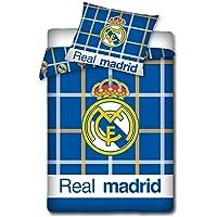 Real Madrid CF Chequeado Diseño Funda nórdica individual
