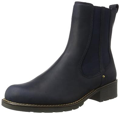 Clarks Orinoco Club - Navy Nubuck Womens Boots 5.5 US