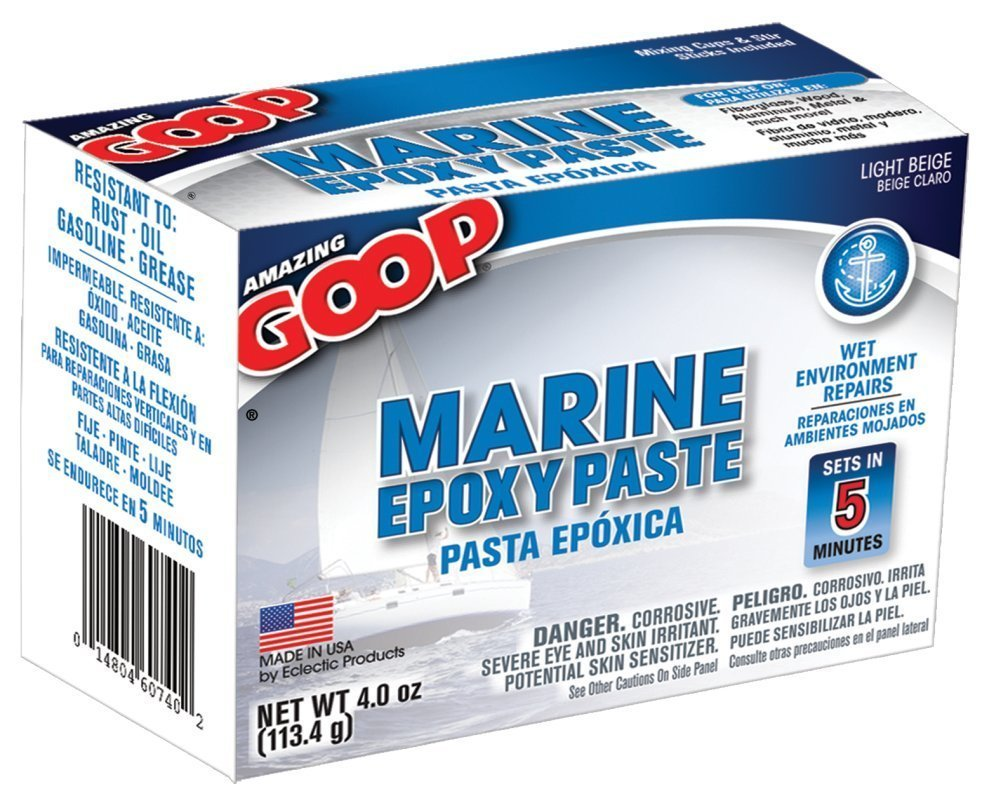 Amazing Goop 5300031 Marine Fix Fast 4 Oz