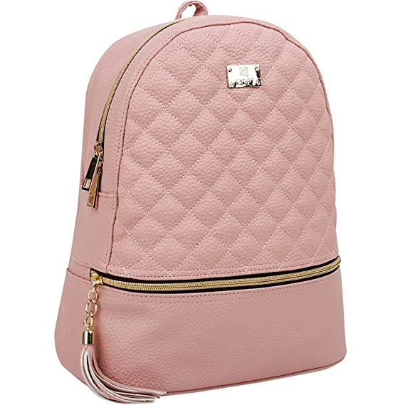 Copi Women's  Fashion Quilted Casual Backpacks