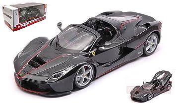 Burago Bu26022bk Ferrari La Ferrari Aperta Black 1 24 Modellino Die Cast Model Amazon De Spielzeug