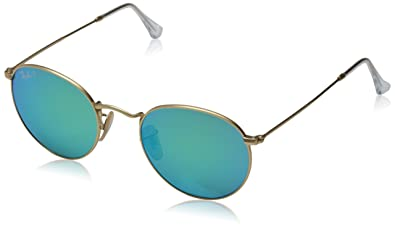 2c7981366d Amazon.com  Ray-Ban Men s Round Metal Polarized