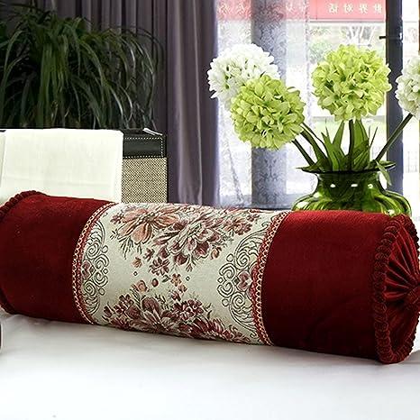 YiShine Decorative Pillows Retro Candy Bolster Pillow Cylinder Sofa Interesting Cylindrical Decorative Pillows
