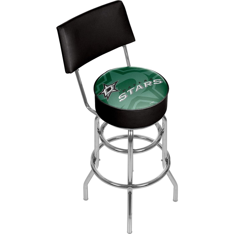 商標Gameroom nhl1100-ds-wm NHL Swivelバースツールwith Back – 透かし – ダラスStarsa   B0743TDFPC