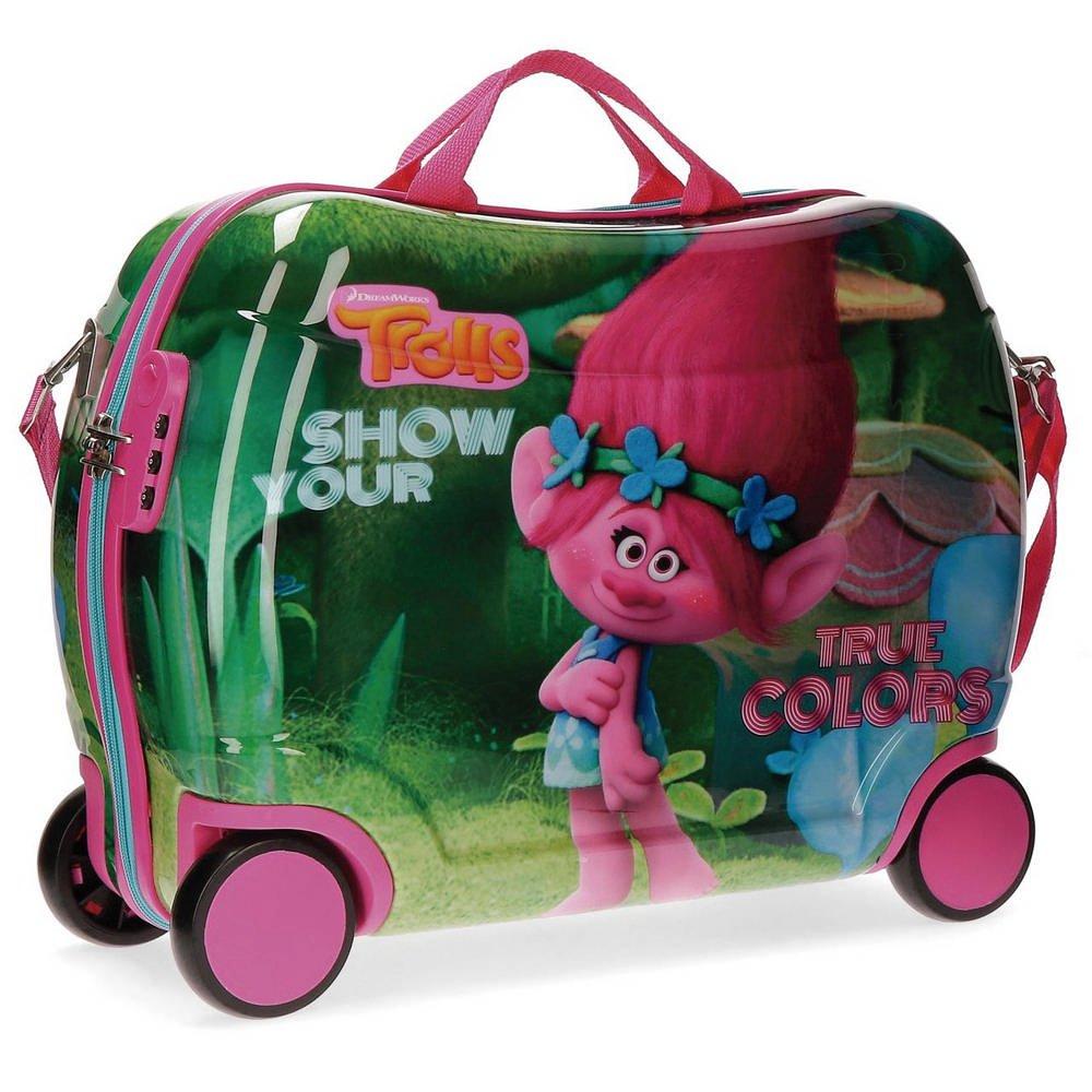 Trolls True Colors Kindergepäck, 50 cm, 34 liters, Mehrfarbig (Varios Colores)