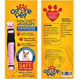 BEST Pain Relief Therapy Dog Collar with Magnets for Arthritis & Joint pain Helps IMPROVE HEALTH for LONGER walks - NON INVASIVE and COMFORTABLE Healing BOOST - SAFE Magnetic Pet Therapy