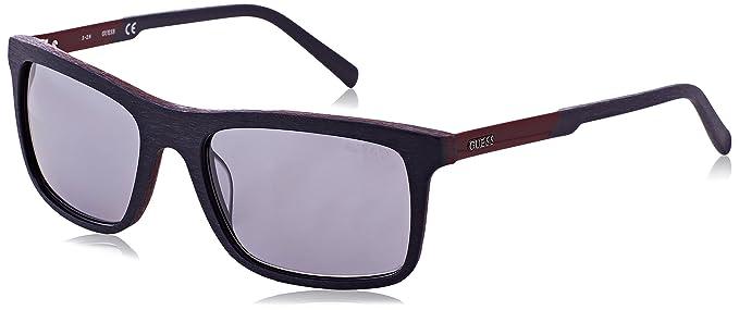 Guess GU6805 Gafas de Sol, Negro (Nero/Marrone), 55 para ...