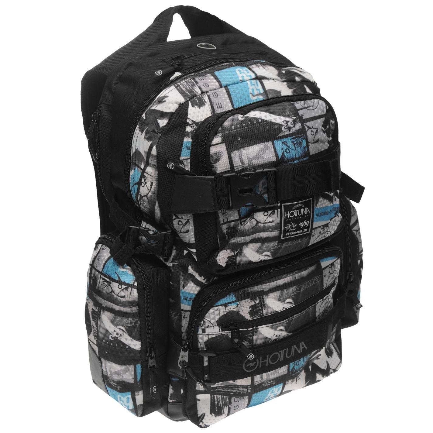 0ea7db70188f Amazon.com  Hot Tuna Skate Unisex Backpack Photoprint  Shoes